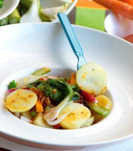 Salade fraîcheur de Princesse Amandine® - Chef Jean-Paul Brémond ©B.Galeron/Germicopa