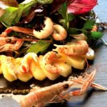 Salade de Princesse Amandine® aux langoustines - Chef Thierry Doudard ©B.Galeron/Germicopa