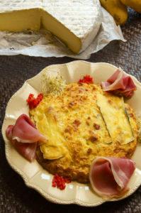 Gâteau de Princesse Amandine® à la tomme de Savoie - Chef Pierrot Le Roux ©B.Galeron/Germicopa