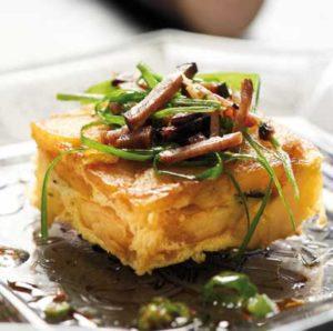 Breizh tortilla - Chef Laurent Bacquer ©B.Galeron/Germicopa