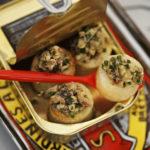 Bouchons de Princesse Amandine® aux sardines et fruits secs - Chef Xavier Hamon ©B.Galeron/Germicopa