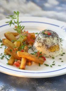 Oeuf cocotte et mouillette de Princesse Amandine® - Chef Arnaud Le bossé ©B.Galeron/Germicopa