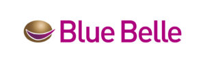 Logo pomme de terre Blue Belle