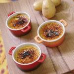 Crème brûlée de Juliette - Chef Didier Lecuisinier ©B.Galéron/Germicopa