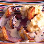 Jambon blanc aux deux pommes - Chef Gilbert Guyon ©D.Benaouda/Germicopa