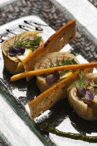 Makis de Chérie aux sardines au citron - Chef Ludovic Le Torc'h ©B.Galéron/Germicopa