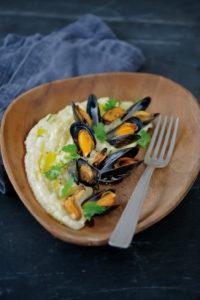 Mousseline de Dolwen® du bord de mer - Chef Laurent Bacquer ©F.Schmitt/Germicopa
