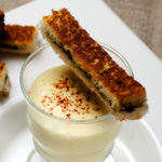 Crème de Dolwen® au curry - Chef Xavier Hamon ©B.Galéron/Germicopa