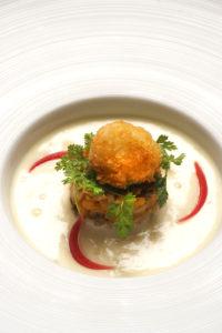 Crème de Dolwen® version automnale - Chef Loïc Le Bail ©B.Galéron/Germicopa