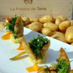 Video Pommes soufflées salade d'herbes - Chef Sylvain Guillemot