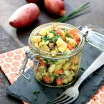 Salade de Chérie au pot au feu de la veille - Chef Laurent Bacquer - ©F.Schmitt/Germicopa