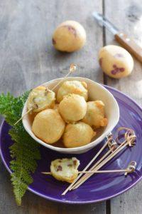 Ecrase-de-Blue-Belle-aux-algues en tempura - Chef Jean-Marie Le Guen ©F.Schmitt/Germicopa