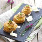 Millefeuille-de-Blue-Belle-au parmesan - Chef Jason Bayes ©F.Schmitt/Germicopa