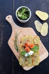 Tarte-ultra-fine-de-Gwennie®,-thym-et-crème-d'herbes ©F.Schmitt-Germicopa